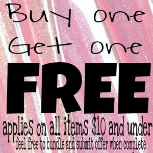 Accessories - Buy1 get 1 free sale everything under $10